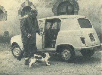 dog (Renault Magazine 46, 1962)